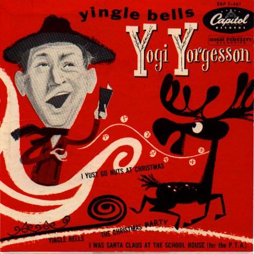 Harry Stewart I Yust Go Nuts At Christmas cover art