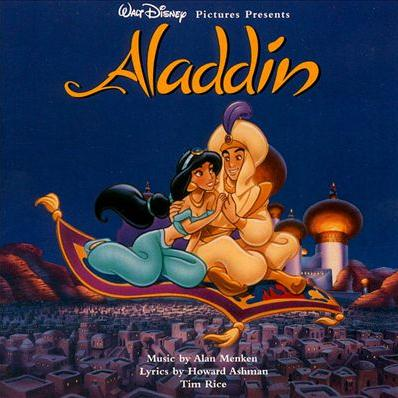 Alan Menken Friend Like Me cover art