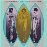 You Keep Me Hangin' On sheet music by The Supremes