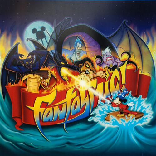 Barnette Ricci Fantasmic! Theme (from Disneyland Park and Disney-MGM Studios) cover art