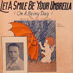 Irving Kahal Let A Smile Be Your Umbrella cover art