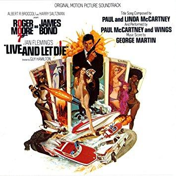 Paul McCartney & Wings Live And Let Die cover art