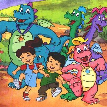 Jessee Harris Dragon Tales Theme cover art