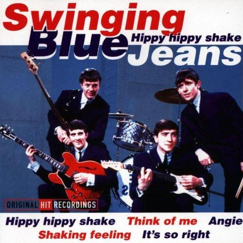 The Swinging Blue Jeans Hippy Hippy Shake cover art