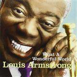 What A Wonderful World sheet music by Louis Armstrong