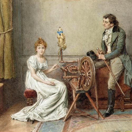 John Francis Waller The Spinning Wheel Song cover art