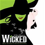 Defying Gravity (from the Broadway Musical Wicked) sheet music by Stephen Schwartz