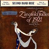 Second Hand Rose sheet music by Fannie Brice