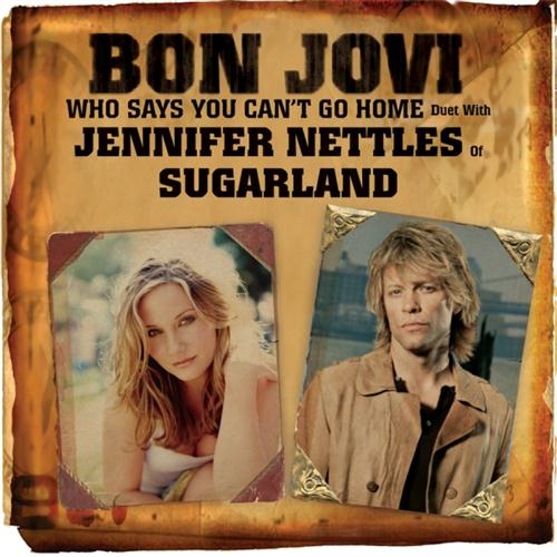 Bon Jovi Scars On This Guitar Song Lyrics: Who Says You Can't Go Home Sheet Music By Bon Jovi With
