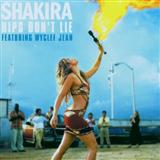 Shakira featuring Wyclef Jean:Hips Don't Lie