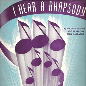 Jack Baker I Hear A Rhapsody cover art