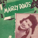 Mairzy Doats sheet music by Al Hoffman