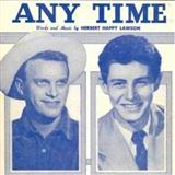 Any Time sheet music by Herbert Happy Lawson