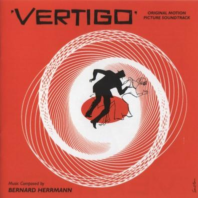 Bernard Hermann Vertigo Theme cover art