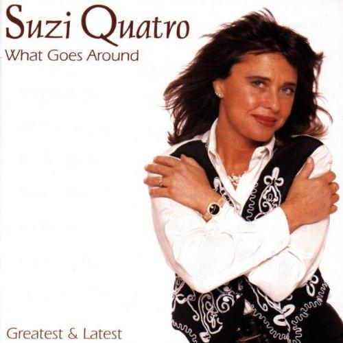 Suzi Quatro Stumblin' In cover art