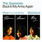 Back In My Arms Again sheet music by The Supremes