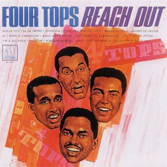 The Four Tops Reach Out, I'll Be There cover art