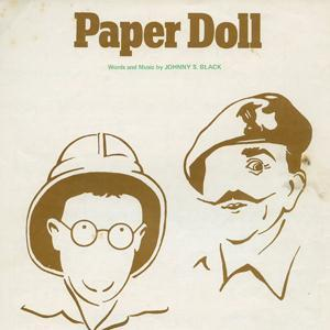 Johnny S. Black Paper Doll cover art