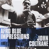 Afro Blue sheet music by John Coltrane