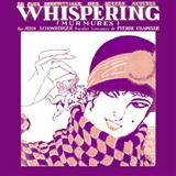 Whispering sheet music by Richard Coburn