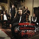 Apologize (feat. OneRepublic) sheet music by Timbaland