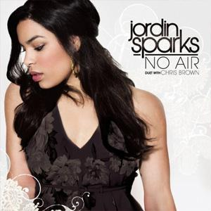 Jordin Sparks with Chris Brown No Air cover art