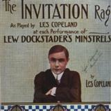 Invitation Rag sheet music by Les C. Copeland