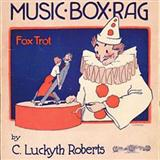 "The Music Box Rag sheet music by C. Luckyth ""Luckey"" Roberts"