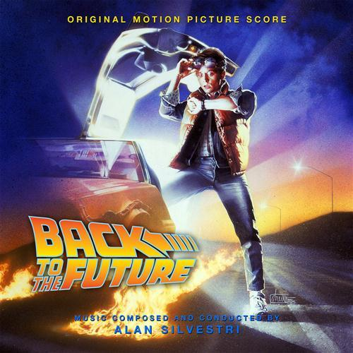Alan Silvestri Back To The Future cover art