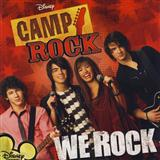 We Rock sheet music by Camp Rock (Movie)