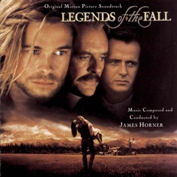 James Horner Legends Of The Fall cover art