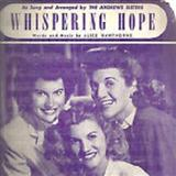 Whispering Hope sheet music by Alice Hawthorne