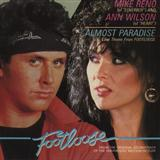 Almost Paradise (from Footloose) sheet music by Ann Wilson & Mike Reno