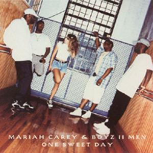 Mariah Carey and Boyz II Men One Sweet Day cover art