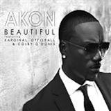 Beautiful (feat. Colby O'Donis & Kardinal Offishall) sheet music by Akon