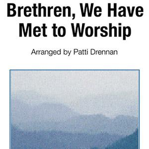 George Atkins Brethren, We Have Met To Worship cover art