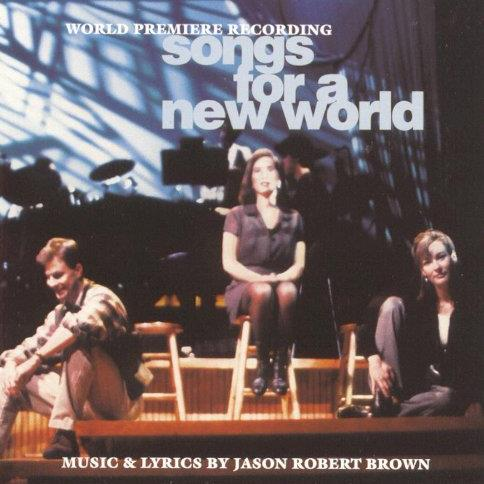 Jason Robert Brown The New World cover art