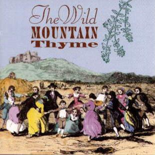 Scottish Folksong Wild Mountain Thyme cover art
