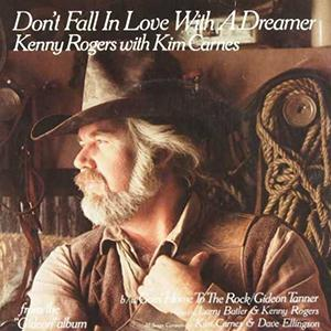 Kenny Rodgers & Kim Carnes Don't Fall In Love With A Dreamer cover art