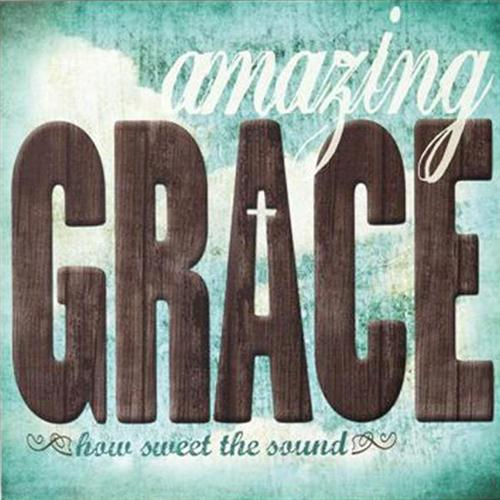Traditional Spiritual Amazing Grace cover art