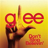 Don't Stop Believin' sheet music by Glee Cast