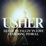 DJ Got Us Fallin' In Love (feat. Pitbull) sheet music by Usher