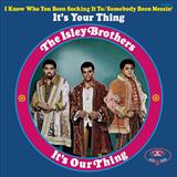 It's Your Thing sheet music by The Isley Brothers