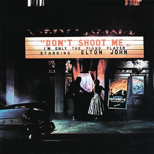 Elton John Crocodile Rock cover art