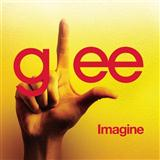 Imagine sheet music by Glee Cast