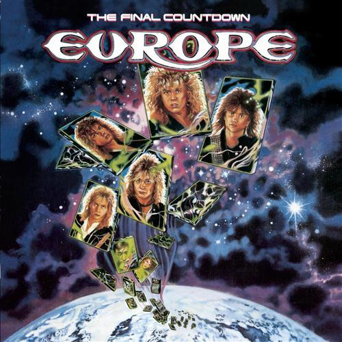 Europe Final Countdown cover art