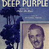 Deep Purple sheet music by Mitchell Parish