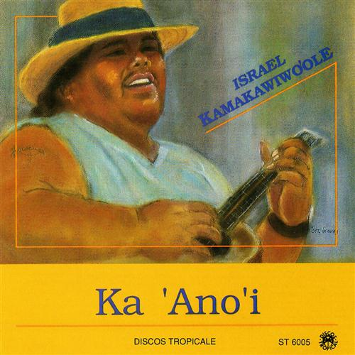 Israel ''Iz'' Kamakawiwo'ole Over The Rainbow / What A Wonderful World cover art