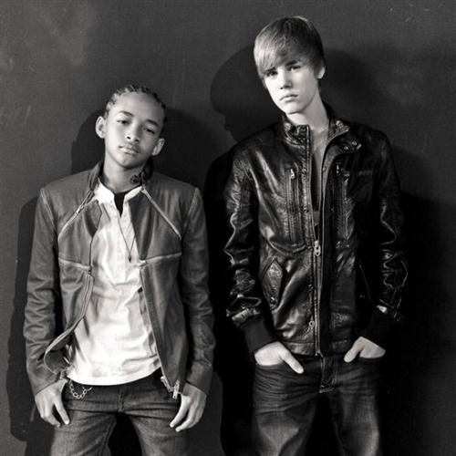 Justin Bieber featuring Jaden Smith Never Say Never cover art