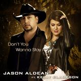 Don't You Wanna Stay sheet music by Jason Aldean featuring Kelly Clarkson